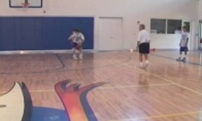 Work the Man in the Half Court Drill