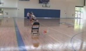 Half Court Dribble & Shoot Drill