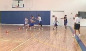 3 on 3 Live in the Box Drill